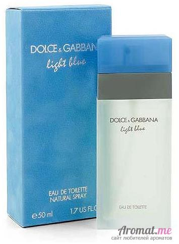 Аромат Dolce&Gabbana D&G Light Blue