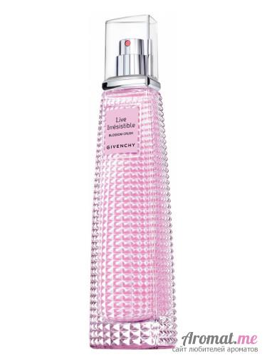 Аромат Givenchy Live Irrésistible Blossom Crush