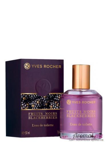 Аромат Yves Rocher Fruits Noirs Blackberries